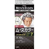ホーユー メンズビゲン ムースカラー 7 (ナチュラルブラック) 1剤40g+2剤40g [医薬部外品]
