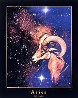 Astrology牡羊座3/ 21–4/ 20Zodiac壁装飾アートプリントポスター16x 20
