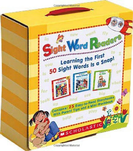 Sight Word Readers: Learning the First 50 Sight Words is a Snap! -