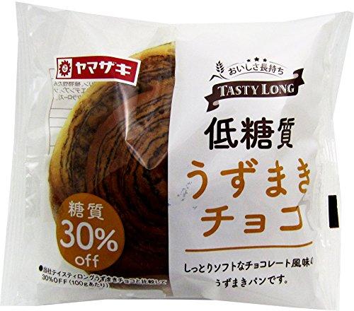 ヤマザキ テイスティロング 低糖質うずまきチョコ12個セット