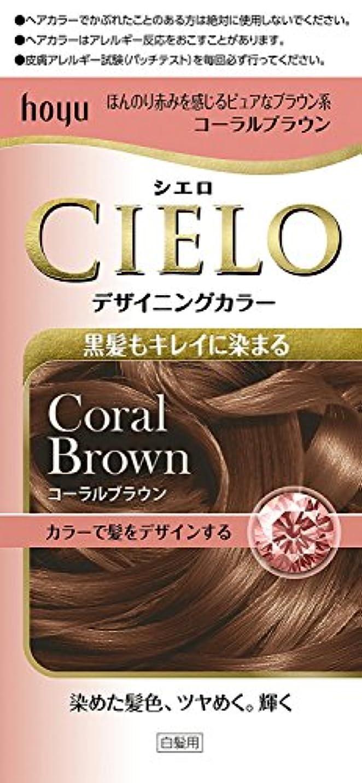 公平それぞれ毛皮ホーユー シエロ デザイニングカラー (コーラルブラウン) ×6個