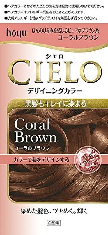 根絶する電話する保有者ホーユー シエロ デザイニングカラー (コーラルブラウン) ×3個