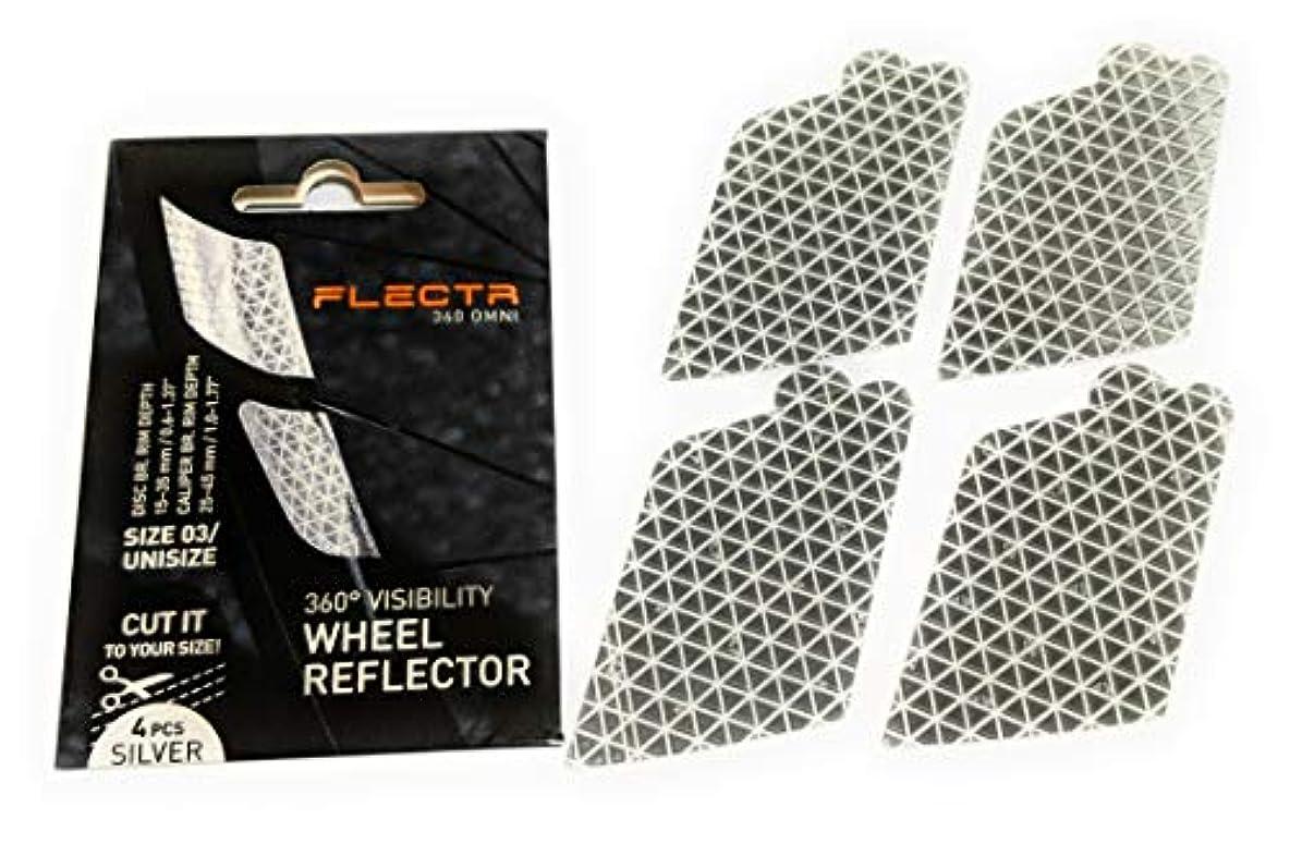 トレイ千突然FLECTR 360 自転車用リム貼り付け式リフレクター [並行輸入品]
