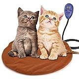 ペットヒーター ペット用 ホットカーペット 猫 あったか マット テキオンヒーター 7段階温度調節 犬/猫/うさぎ 小動物対応