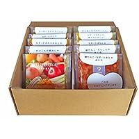 【5か月未満のお子様に】無添加・有機米・無農薬野菜のベビーフード「manma 四季の離乳食」出産祝い・ギフト(10個入りギフトセット)