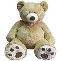 Hugfun 53 inch (134cm) Plush Sitting Bear - Blonde (3+ Years) by Hugfun [並行輸入品]