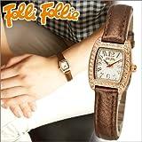 [フォリフォリ]Folli Follie レディース 時計 【WF5R142SPS】ピンクゴールド/ブロンズ/レザー [並行輸入品]