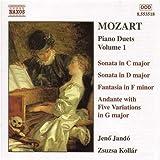 モーツァルト:4手のピアノのための作品集  1