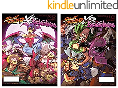 Street Fighter VS Darkstalkers Comic Book (English Edition)
