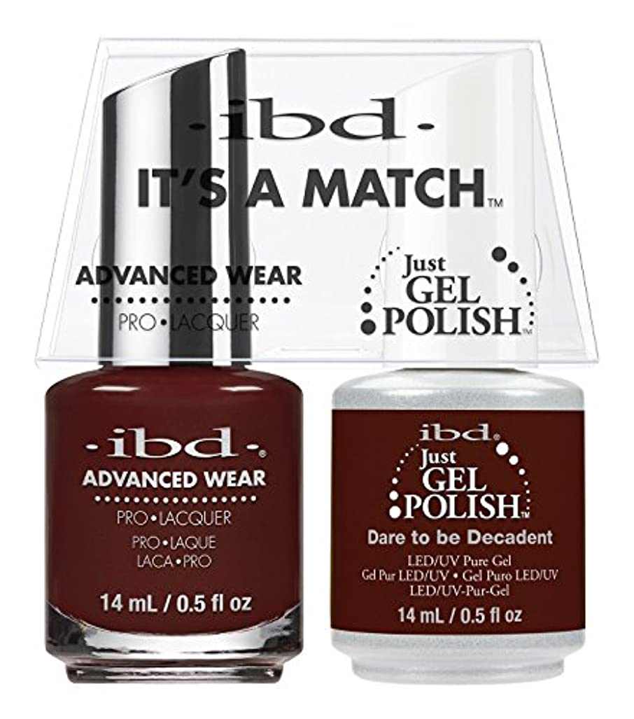 しがみつく些細名前を作るibd - It's A Match -Duo Pack- Dare to be Decadent- 14 mL / 0.5 oz Each