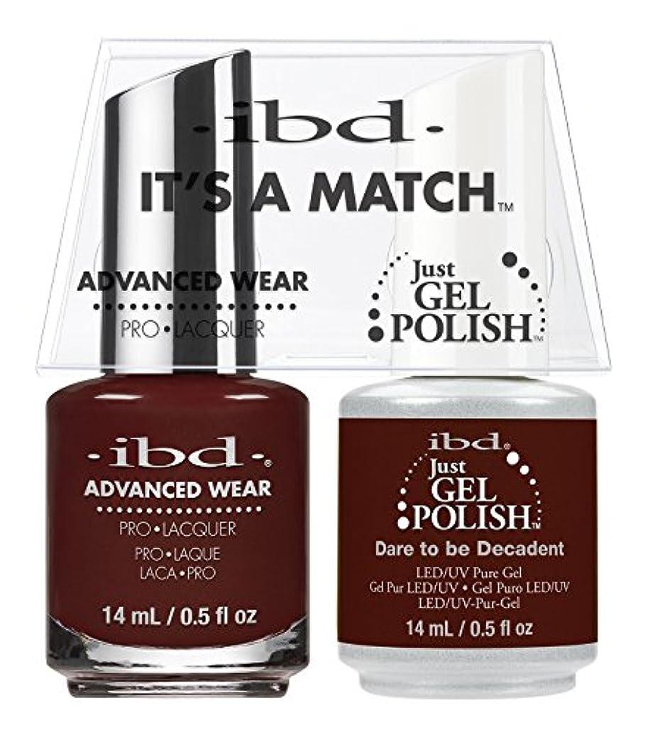 苦い代わりのとまり木ibd - It's A Match -Duo Pack- Dare to be Decadent- 14 mL / 0.5 oz Each