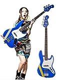 "Squier by Fender/SCANDAL TOMOMI JAZZ BASS SKY BLUE ""Bluetus""(ブルータス) 【フェンダー】"
