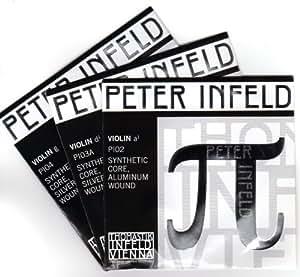 PETER INFELD ペーター・インフェルド π・バイオリン弦 ADsilG線セット(D線シルバー)