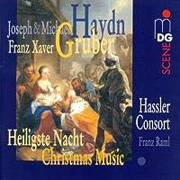 Haydn/Gruber: Christmas Music by FRANZ HASSLER CONSORT / RAML (2001-10-23)