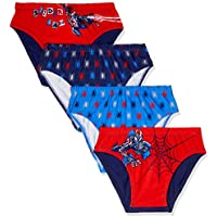 Spider Man Boys Underwear Brief (4 Pack)
