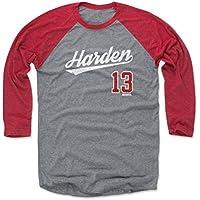 500 LEVEL ジェームズ・ハーデン ベースボールTシャツ ヒューストン バスケットボール ラグランシャツ ジェームズ・ハーデン スクリプト