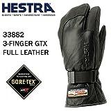 HESTRA(ヘストラ) ヘストラ スキーグローブ ミトン ゴアテックス 3-FINGER GTX FULL LEATHER BLACK(33882-100100)(16-17 2017)hestra スキーグローブ 7