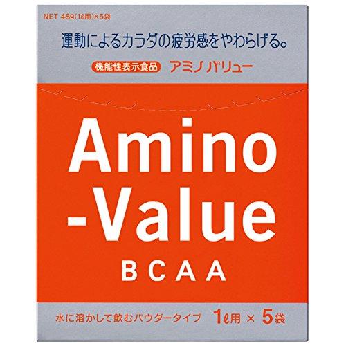 アミノバリュー パウダー8000 (47g×5袋入)x5個 (4987035033028)