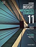 Cover of Oxford Insight Mathematics Standard (Year 11) Student book + obook assess