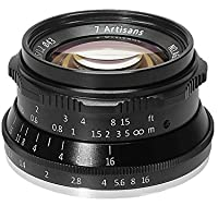 7artisans マイクロカメラレンズ 35mm / f1.2 マニュアルフォーカス ソニー A6500 A6300 A6000 A5100 A5000 NEX-3 NEX-3N NEX-3R NEX-C3 NEX-F3K NEX-5K カメラ適用