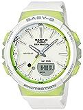[カシオ] 腕時計 ベビージー FOR RUNNING STEP TRACKER BGS-100-7A2JF レディース ホワイト