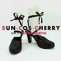 【サイズ選択可】コスプレ靴 ブーツ K-984 VOCALOID ボーカロイド ワールズエンド・ダンスホール 初音ミク Miku 女性23CM
