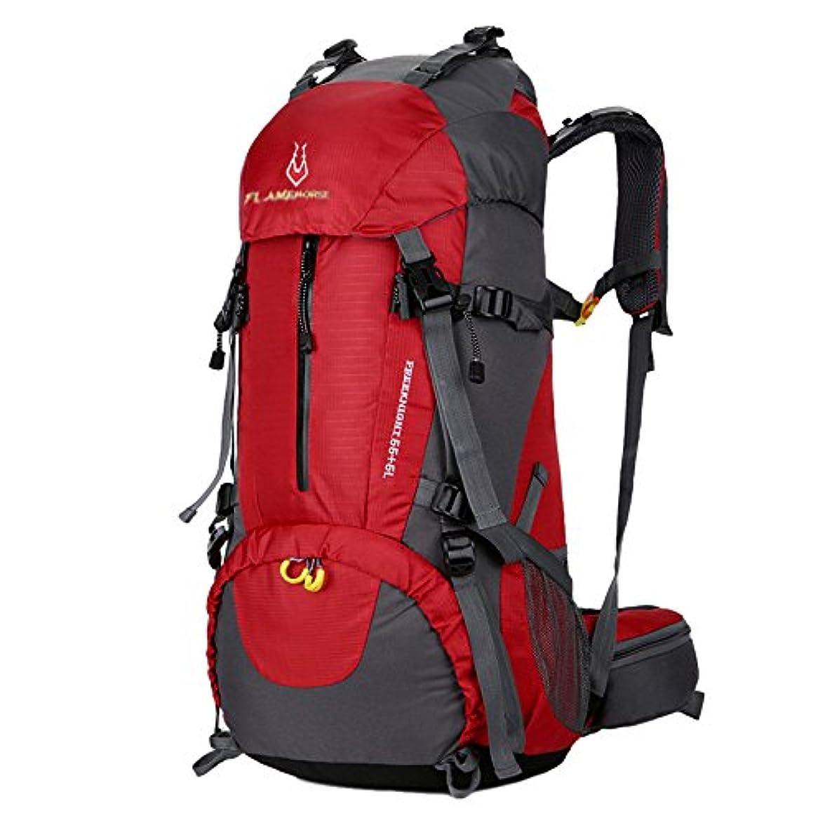 頑張る雑品下手LITTHING 大容量60L バックパックリュック登山用リュック 登山リュックサック登山ハイキングトレッキングキャンプ旅行アウトドア災害用防災用男女兼用