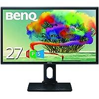 BenQ デザイナーズ モニター ディスプレイ PD2700Q 27インチ/WQHD/IPS/DisplayPort/sRGB 100%カバー/webデザイン・閲覧用