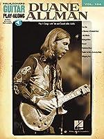 Duane Allman: Guitar Play-Along Volume 104 by Duane Allman(2010-05-01)