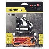 Kryptonite 000877 Keeper 5s Black Chrome Disc Lock