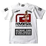 (リバーサル) REVERSAL×所英男×嘘食い BIGMARK USOGUI TEE (SS:TEE)(T520-WH) Tシャツ 半袖 RIZIN 所英男 嘘喰い
