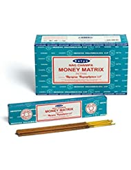 Buycrafty Satya Champa Money Matrix Incense Stick,180 Grams Box (15g x 12 Boxes)