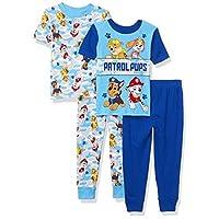 Nickelodeon Boys' Paw Patrol 4-piece Pajama Set