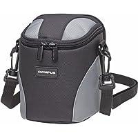 Olympus Ultra Zoom - Case for camera - nylon - gray - for Olympus SH-50, SP-720, 820, SZ-15, 16, 31, Stylus 1s, Stylus Traveller SH-50, SZ-31