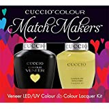 Cuccio MatchMakers Veneer & Lacquer - Good Vibrations - 0.43oz / 13ml Each