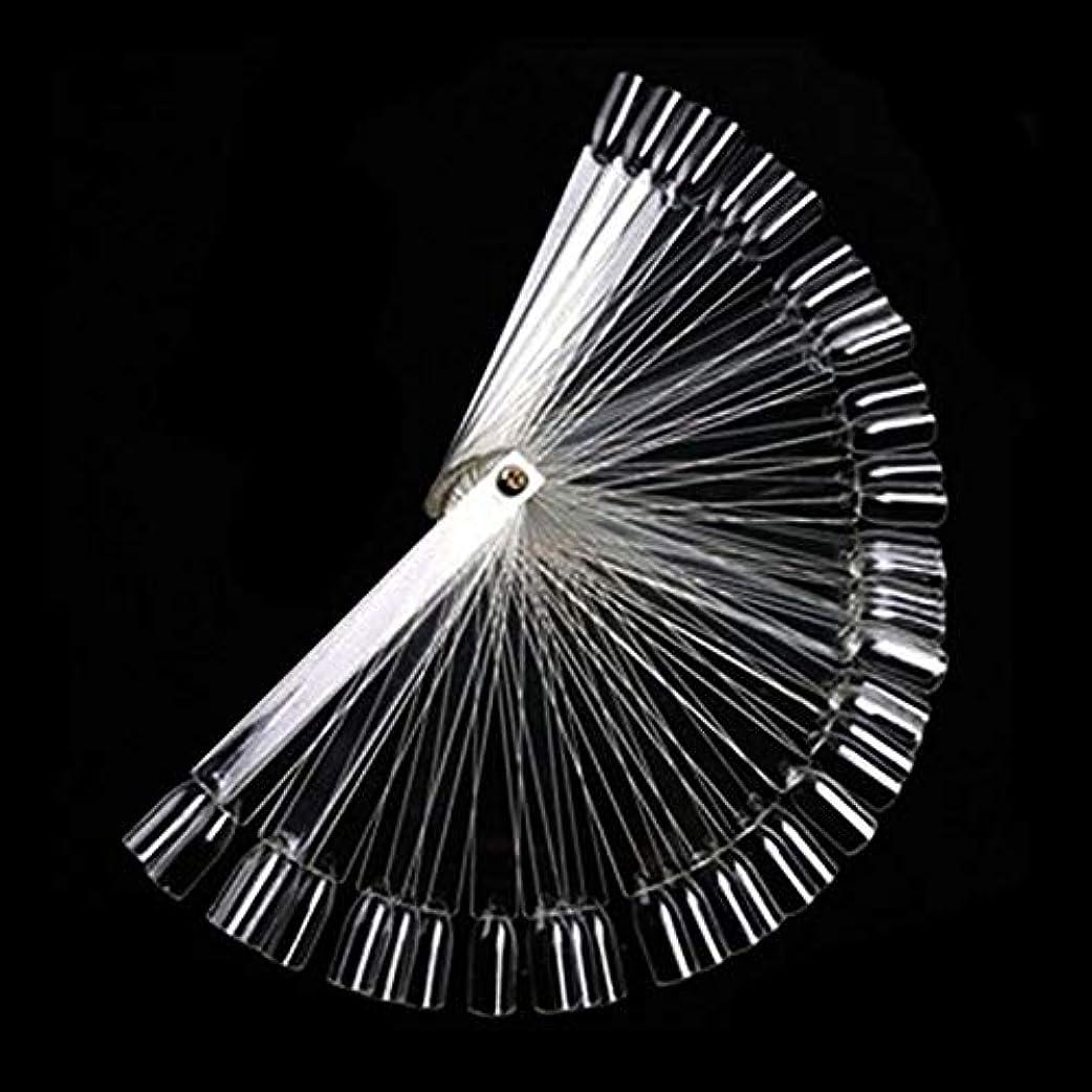 クスコ遺跡教50Pcs ボードスティックネイルアート 練習マニキュアストア 使いやすい 透明