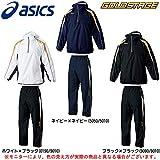 asics(アシックス) ゴールドステージ サーモアップジップパーカ パンツ 上下セット 【メンズ】 (BAW311/BAW410) (O, ホワイト×ブラック(0190/9010))