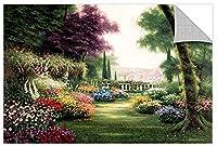 Tremont Hill Egidio Antonaccio ''Catherdral Gardens'' Gallery Wrapped Canvas, 32X48 [並行輸入品]
