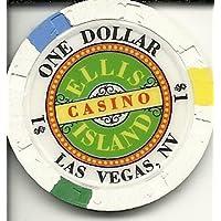 エリス島ラスベガスカジノチップ$ 1