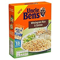 (Uncle Ben's (叔父ベンさん)) バッグの全粒&キノア375グラムで沸騰 (x2) - Uncle Ben's Boil in Bag Wholegrain & Quinoa 375g (Pack of 2) [並行輸入品]