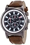 腕時計 ティース アナログ表示 ブラック×ピンク DT083-2 メンズ フィールドワーク画像①