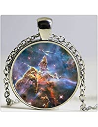 专业译文需求 , 试试百度人工翻译 Glass Dome Pendant Necklace Quote Necklaces Star Universe Personalized Picture Necklace ガラスの...