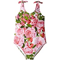 [ドルチェアンドガッバーナ] Dolce & Gabbana Kids ガールズ Swimsuit (Toddler/Little Kids) 水着 [並行輸入品]