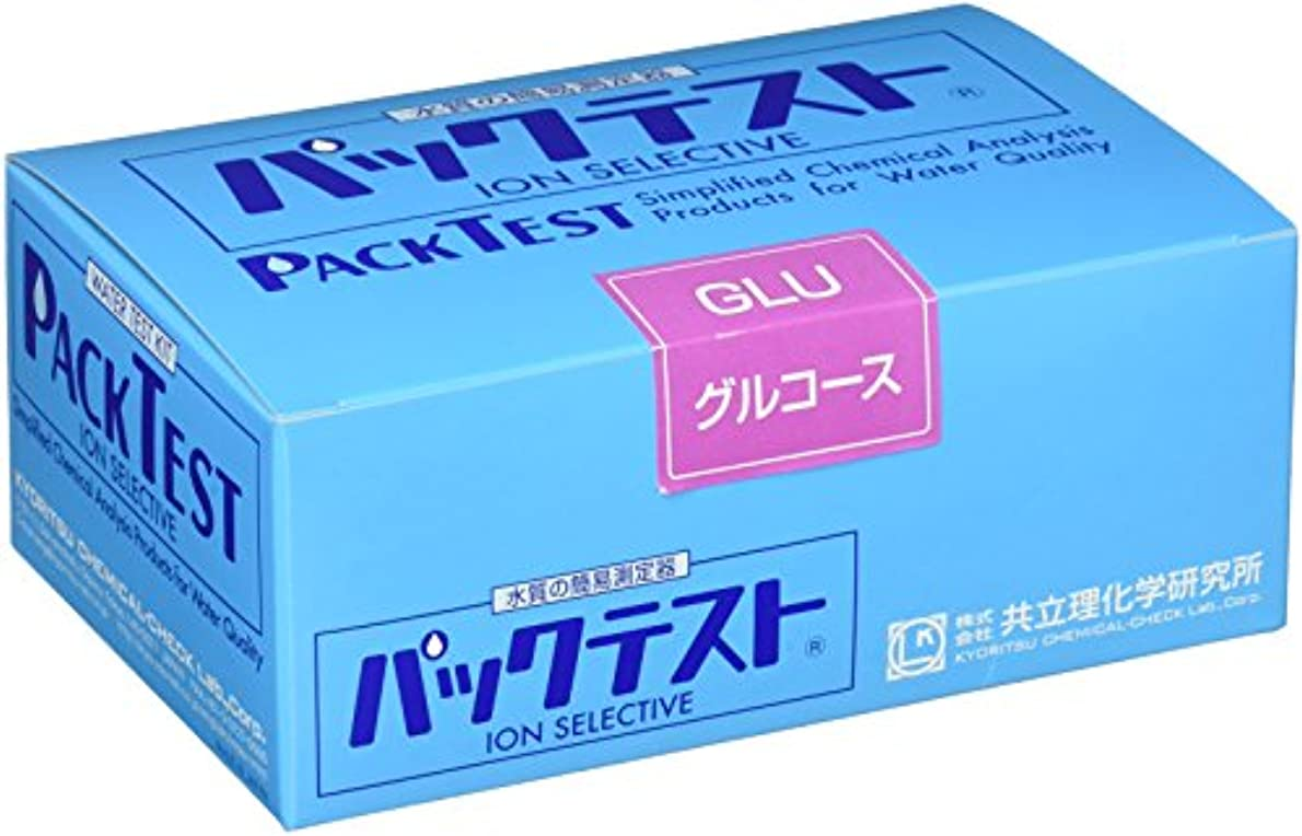 器用検証牛肉共立理化学研究所 パックテスト グルコース WAK-GLU