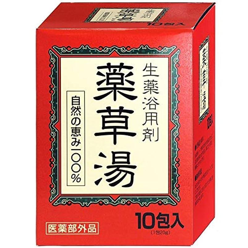 半球フレット強盗VVN生薬入浴剤薬草湯10包×(10セット)