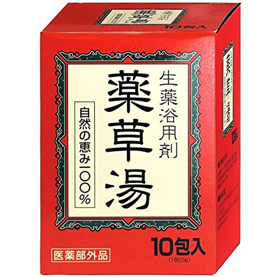 対人安価な寝室VVN生薬入浴剤薬草湯10包×(10セット)