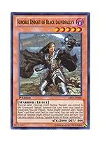 遊戯王 英語版 ABYR-EN000 Ignoble Knight of Black Laundsallyn 魔聖騎士ランスロット (スーパーレア) 1st Edition