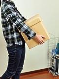 収納ボックススツールオットマン 30cm角 ベージュ 折りたたみ式 合成レザー