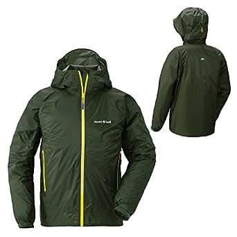 モンベル/バーサライトジャケット Men's メンズ レインウェアージャケット(男性用登山用雨具/雨カッパ)mont-bell Sサイズ