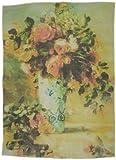 ルノアール作花瓶のバラとジャスミン